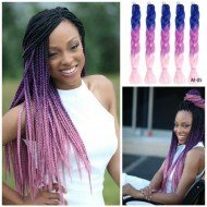 5 Packs Colorful Xpression Braiding Hair