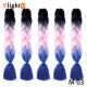 5 Packs Colorful Xpression Braiding Hair