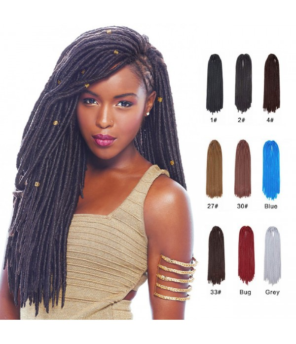 20 inch 5 packs/lot Crochet Braids Faux locs Croch...