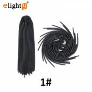 5 packs Crochet Faux locs Straight Hair