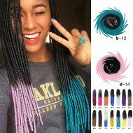 5 packs Omber Faux Locs Crochet Hair