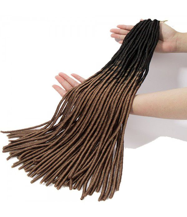 3 packs/lots 20 inch Synthetic Extensions Ombre Twist Braiding Hair for Afro Women