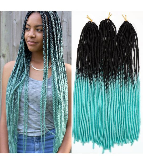 3 packs/lot Braiding Hair Faux locs Crochet Hair F...
