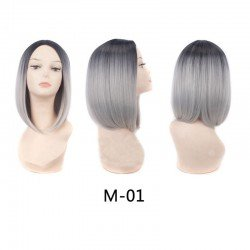 14 Inches Ombre Synthetic Wigs