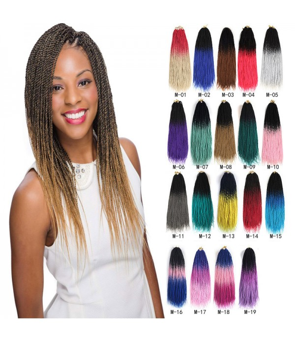 3 Packs 24 Inch Jumbo Senegalese Twist Box Braids ...