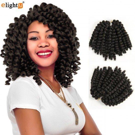 8 Inch Jamaican Bounce Hair