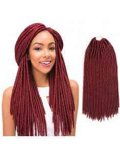 Faux Locs Crochet Hair | Crochet Box Braids | Havana Mambo Twist Hair Dreadlocks Beads 3 Packs 24Roots/Pack 20Inches
