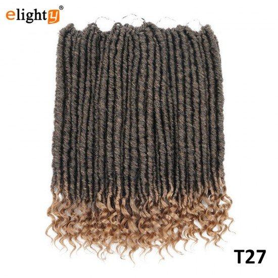 6 packs Goddess Faux Locs Crochet Hair