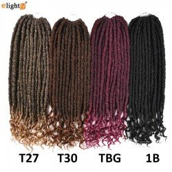 18 Inches Goddess Locs Crochet Hair