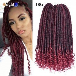 6 packs Goddess Faux Locs Crochet Hair