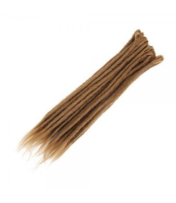 "Crochet Braids Hair Crochet Dreadlocks Handmade Crochet Synthetic Hair Dreadlocks Extensions Twist Braiding Hair 10 Strands 20"""
