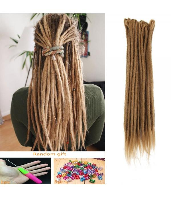 20 Inch Crochet Braids Dreadlocks Handmade Crochet...