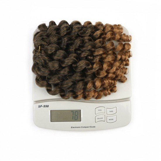 8 Inches Multicolor Jamaican Bounce Twist hair