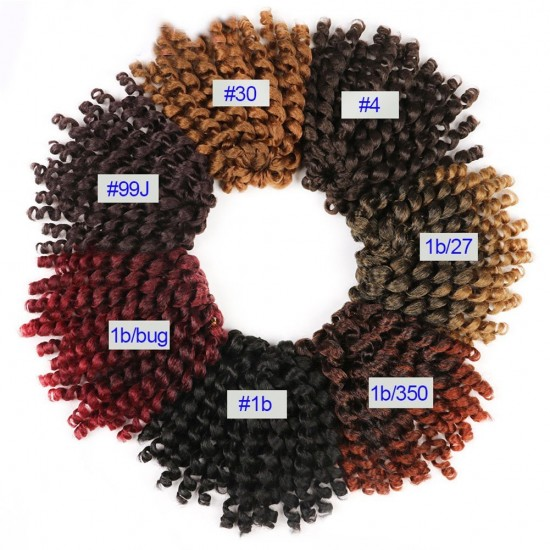 Multicolor Jamaican Bounce hair Crochet