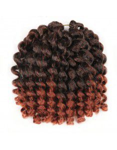 Jamaican Bounce Hair Crochet Braids African Curly Braids Jamaican Bounce curls crochet Wand Curly Braids Synthetic Twist Hair (3pcs/lot)