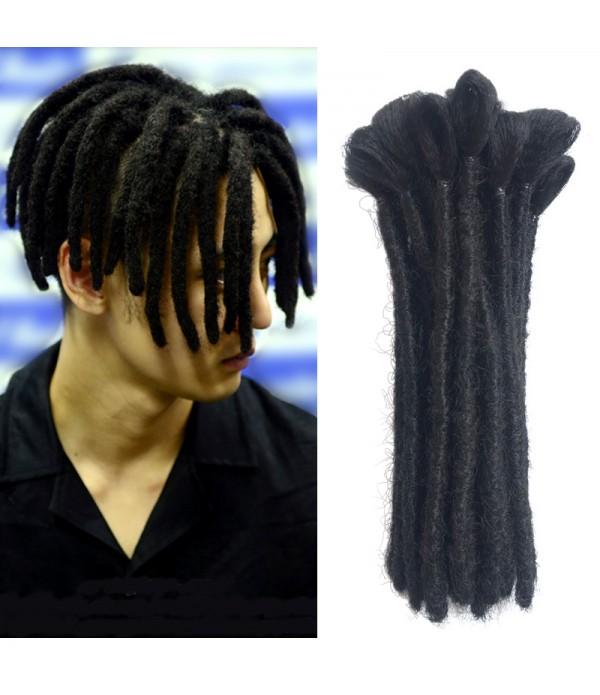 Dreadlock Extensions Crochet Braids Hair From Maya Culture For Men Fashion Reggae Hair Hip-Hop Style 10 Strands/Pack