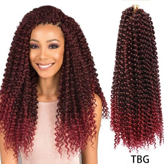 18 Inch Passion Twist Crochet Hair