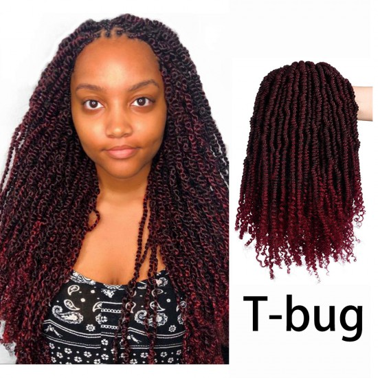 3 Packs Senegalese Bomb Twist Spring Curly Hair