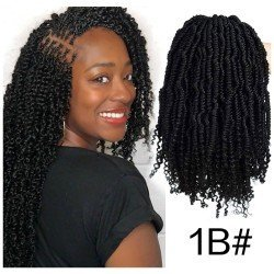 12 Inches Bomb Twist Spring Hair