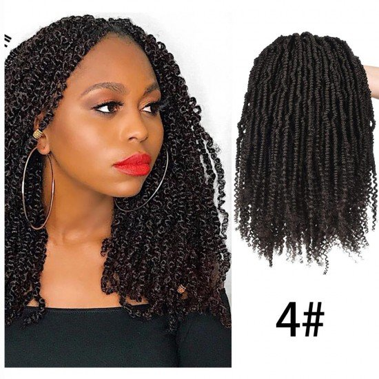 12 Inches Senegalese Bomb Twist Spring Curly Hair