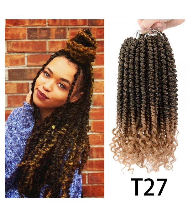"12"" Spring Senegalese Twist Crochet Hair for ..."