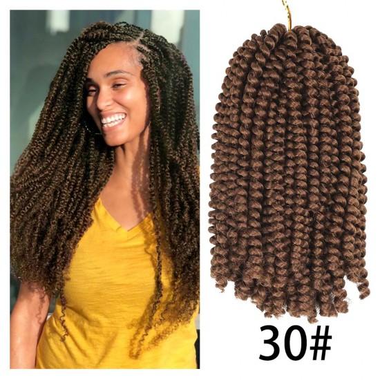 3 Packs Spring Twist Crochet Braids Hair