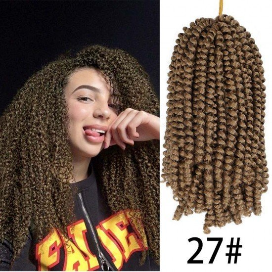 3 Packs Spring Twist Crochet Braids Hair