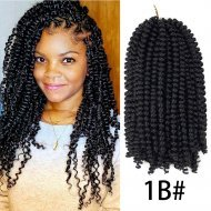 8 Inch Spring Twist Crochet Hair