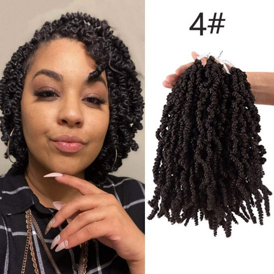 8 Inch Pre-twisted Spring Hair
