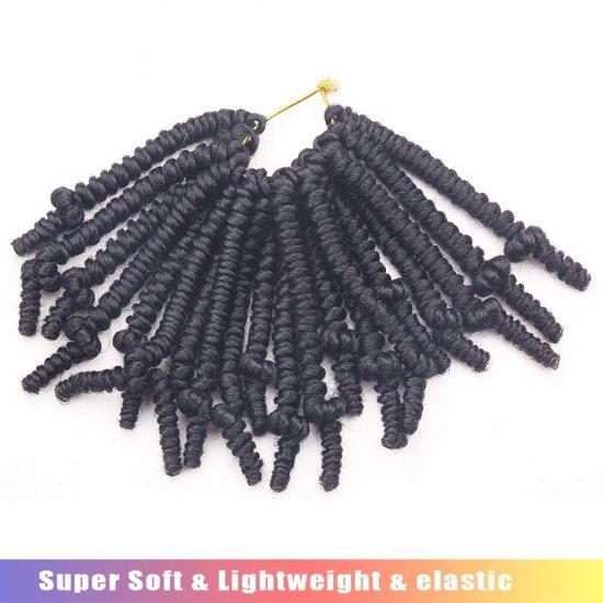 6 Inch Bob Spring Twist Crochet Hair