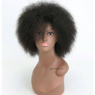 Short Kinky Curly Afro Fluffy Wigs