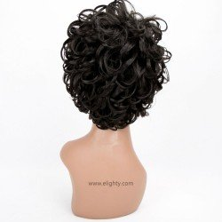 Short Charming Synthetic Black Wigs