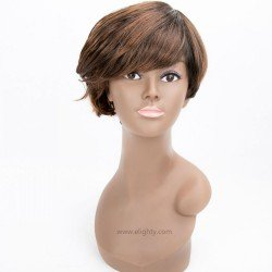 Short Pixie Cute Hair Synthetic Wigs