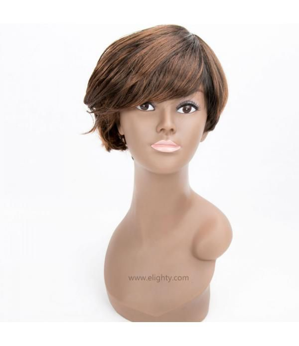 Short Pixie Cut Wig Short Synthetic Hair Wigs For ...