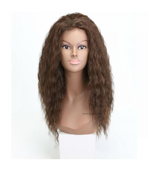 Perruque Cheveux Naturel Synthetic Kinky Curly Lon...