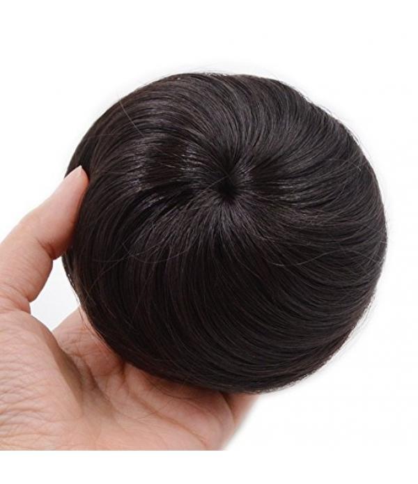 Synthetic Fiber Hair Bun Extension Chignon Donut S...