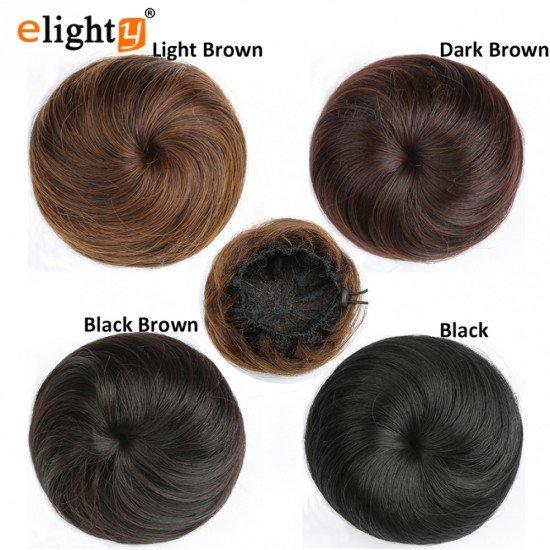 Synthetic Hair Chignon Bun Extension