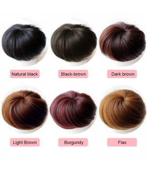 Human Hair Bun scrunchies Donut Wigs Comfort Fit Hairpiece Extension