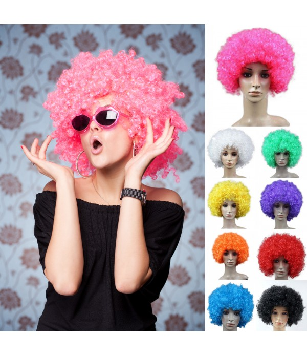 Football Fans Wig Halloween Party Clown Funny Wigs...
