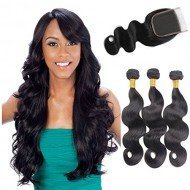 3 Bundles 8A Brazilian Body Wave Hair Extensions