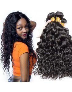 8A Grade Brazilian Water Wave Virgin Hair 3 Bundle...