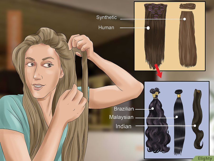 How To Apply Hair Extensions Elighty Hair